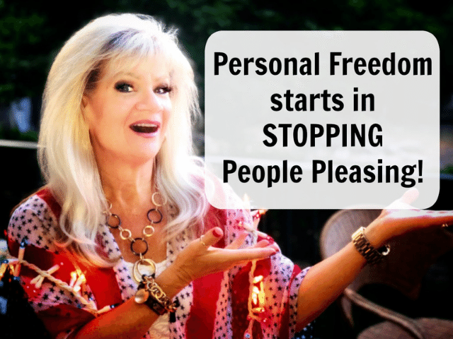 Personal Freedom (or) People Pleasing?